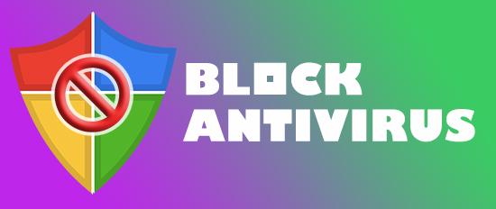 block antivirus