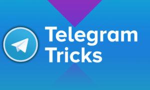 telegram tricks