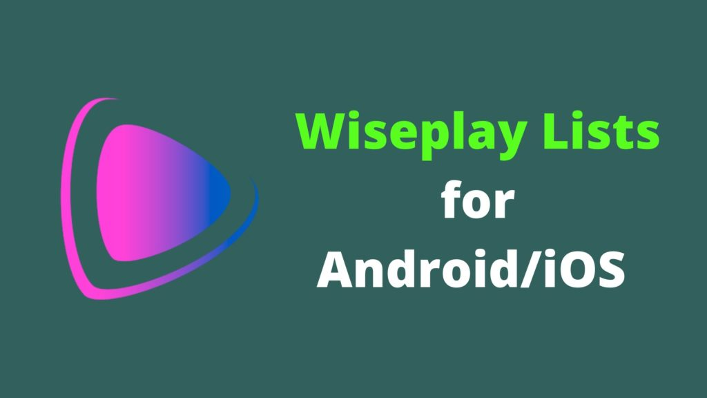 wiseplay lists channel