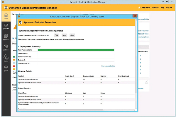 What does Symantec Endpoint Protection Do